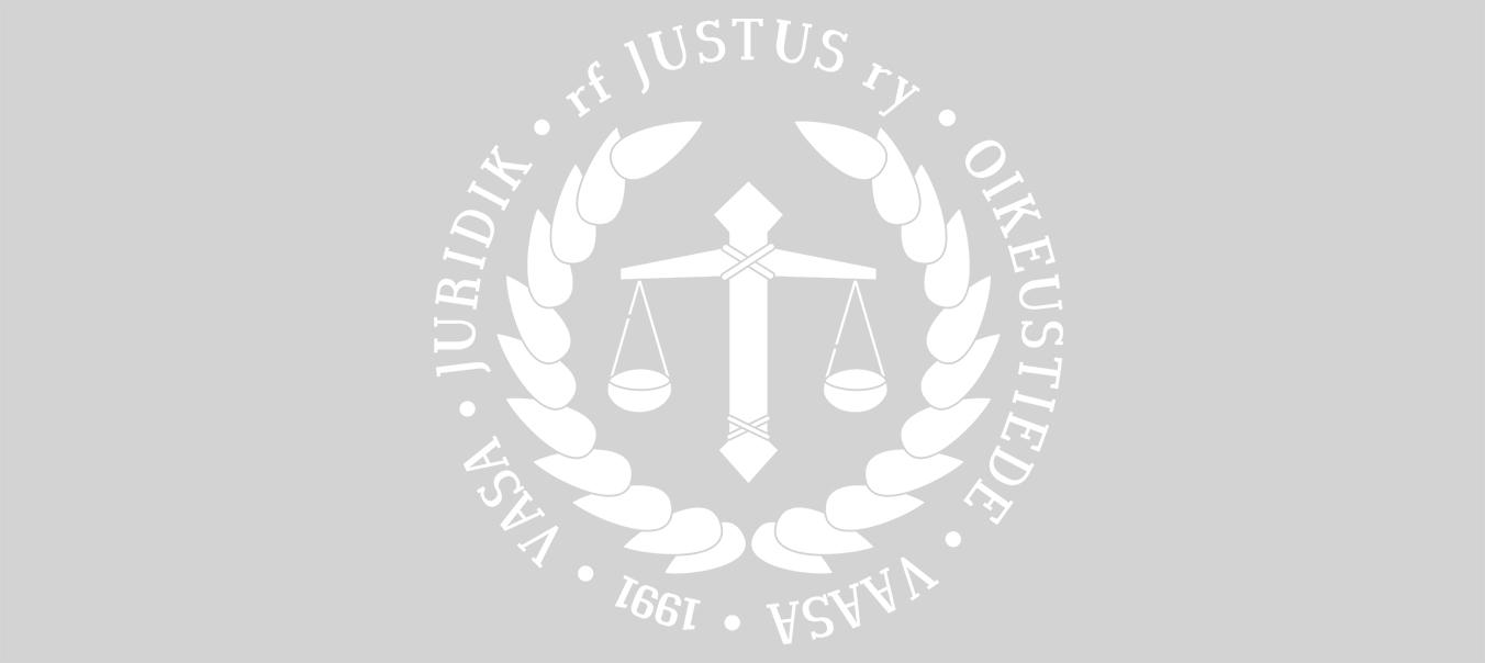Hälsningar från ordförande till justusiter